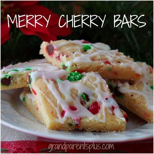 Merry Cherry Bars   grandparentsplus.com