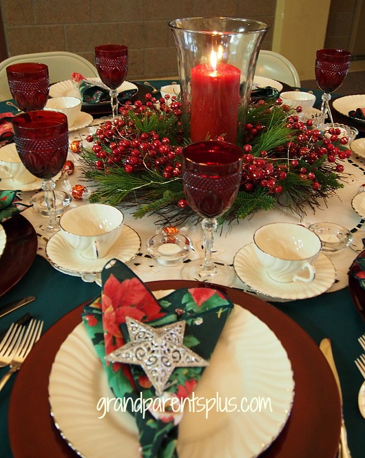 Christmas Tablescapes Part 2 GrandparentsPluscom