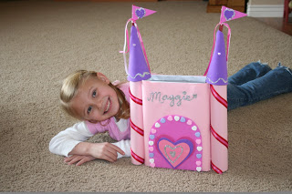 Valentine Box Ideas  castle  grandparentsplus.com