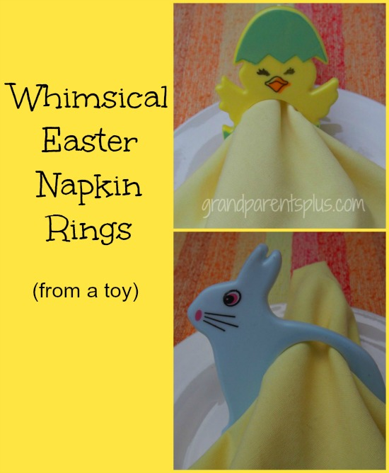 Whimsical Easter Napkin Rings  grandparentsplus.com