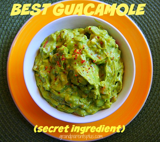 Best Guacamole (+secret ingredient)  grandparentsplus.com