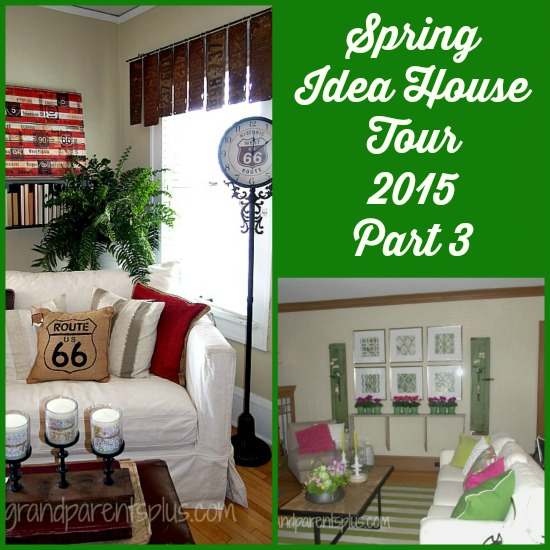 Spring Idea House Tour 2015 Part 3  grandparentsplus.com
