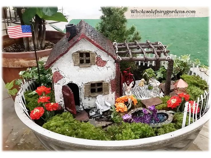 Miniature Garden Inspiration Grandparentsplus.com