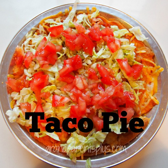 Taco Pie  grandparentsplus.com
