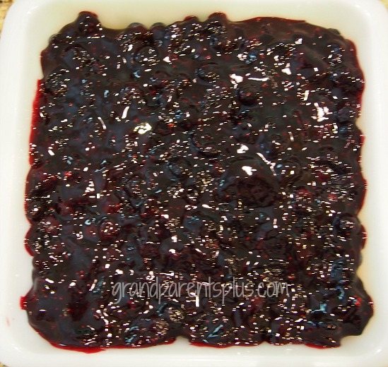 Blueberry Cheesecake Dessert  grandparentsplus.com