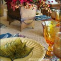 Fall Tablesetting Grandparentsplus.com