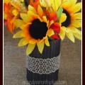 Upcycled Can to Vase grandparentsplus.com