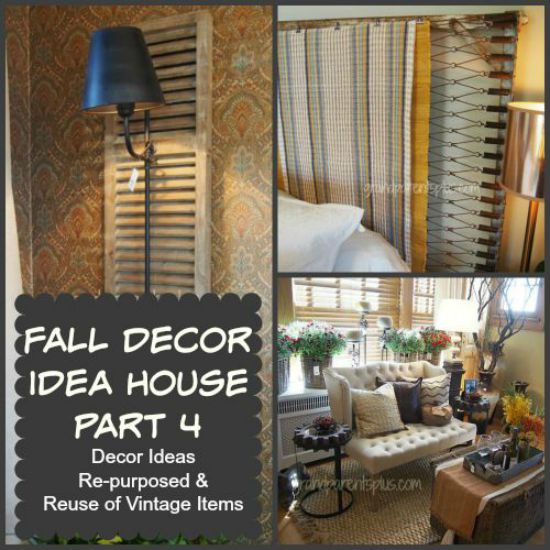 Fall Decor Idea House part 4 grandparentsplus.com