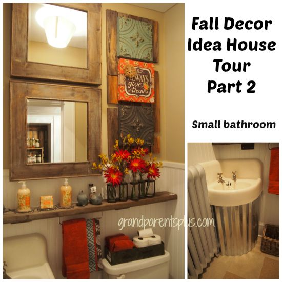 Fall Decor Idea House Part 2 Grandparentsplus.com