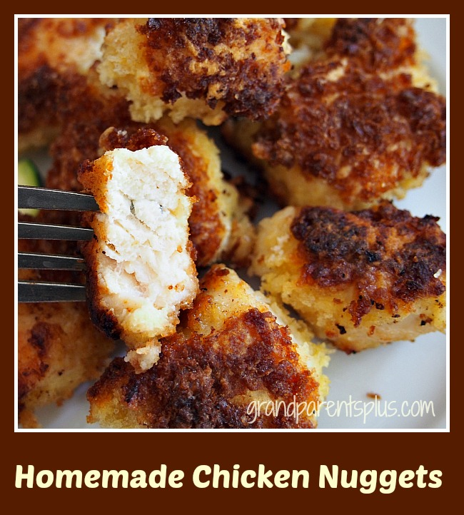 Homemade Chicken Nuggets - GrandparentsPlus.com