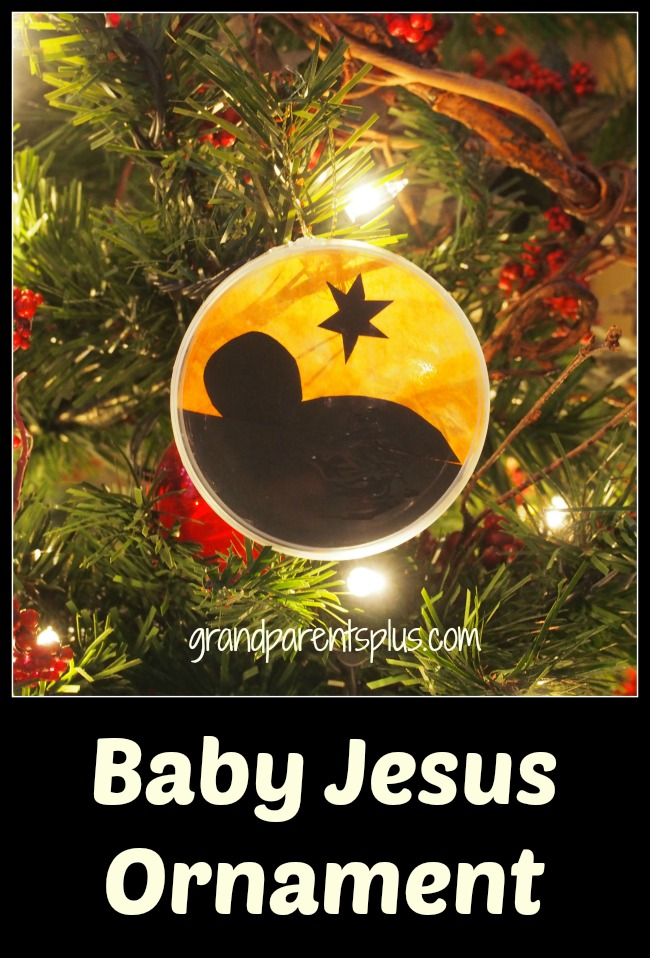 Baby Jesus Ornament grandparentsplus.com