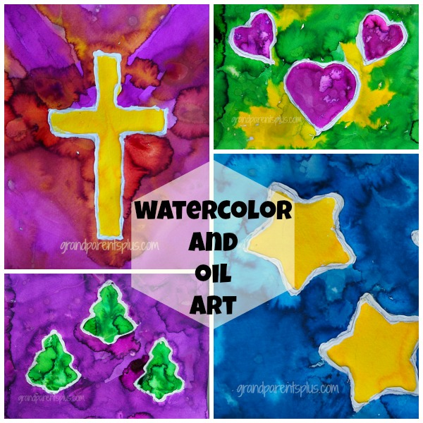 Watercolor and Oil Art grandparentsplus.com