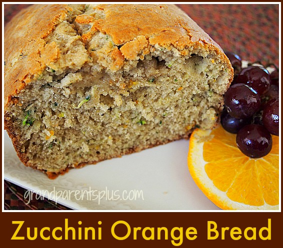 Zucchini Orange Bread grandparentsplus.com