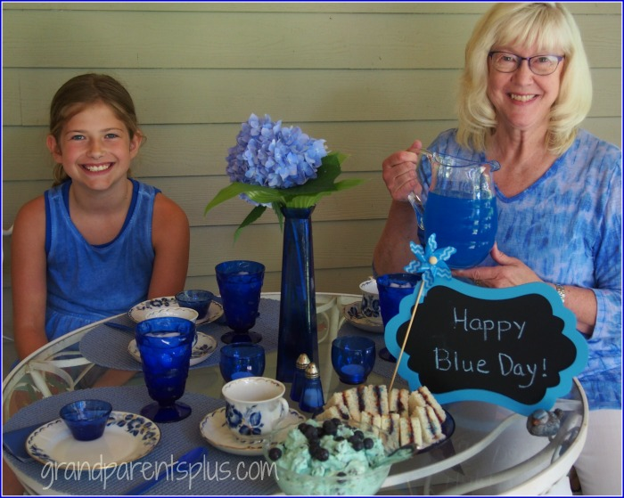Favorite Color Day - Blue grandparentsplus.com
