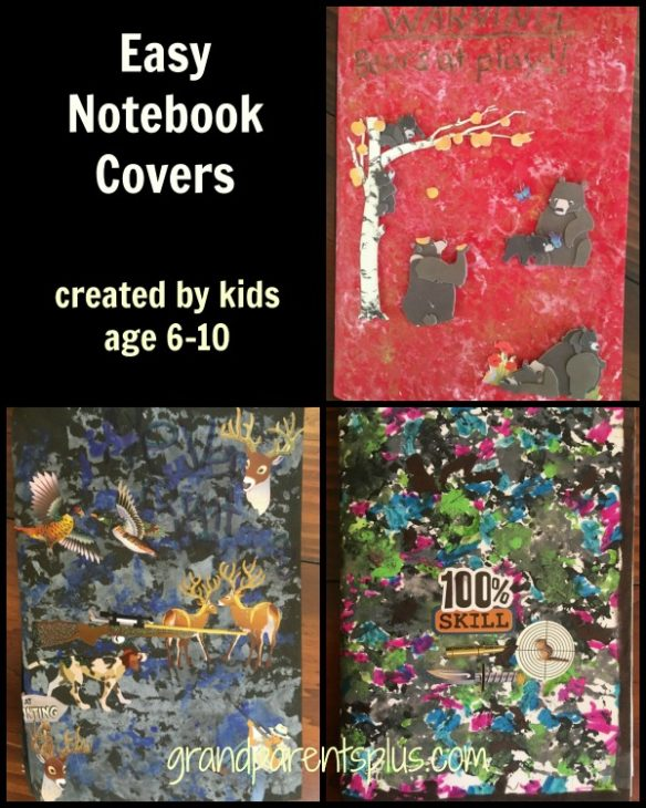 Easy Notebook Cover grandparentsplus.com