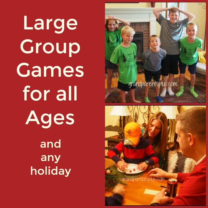 large group games for all ages grandparentspluscom - Christmas Party Games For Adults Large Group