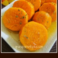 Orange Candied Sweet Potatoes