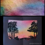 Sunset Art Project for Kids