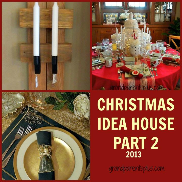 Christmas Idea House Part 2     grandparentsplus.com